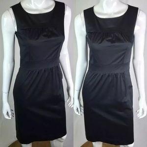 J. Crew Cotton Stretch Ruched Sheath Dress